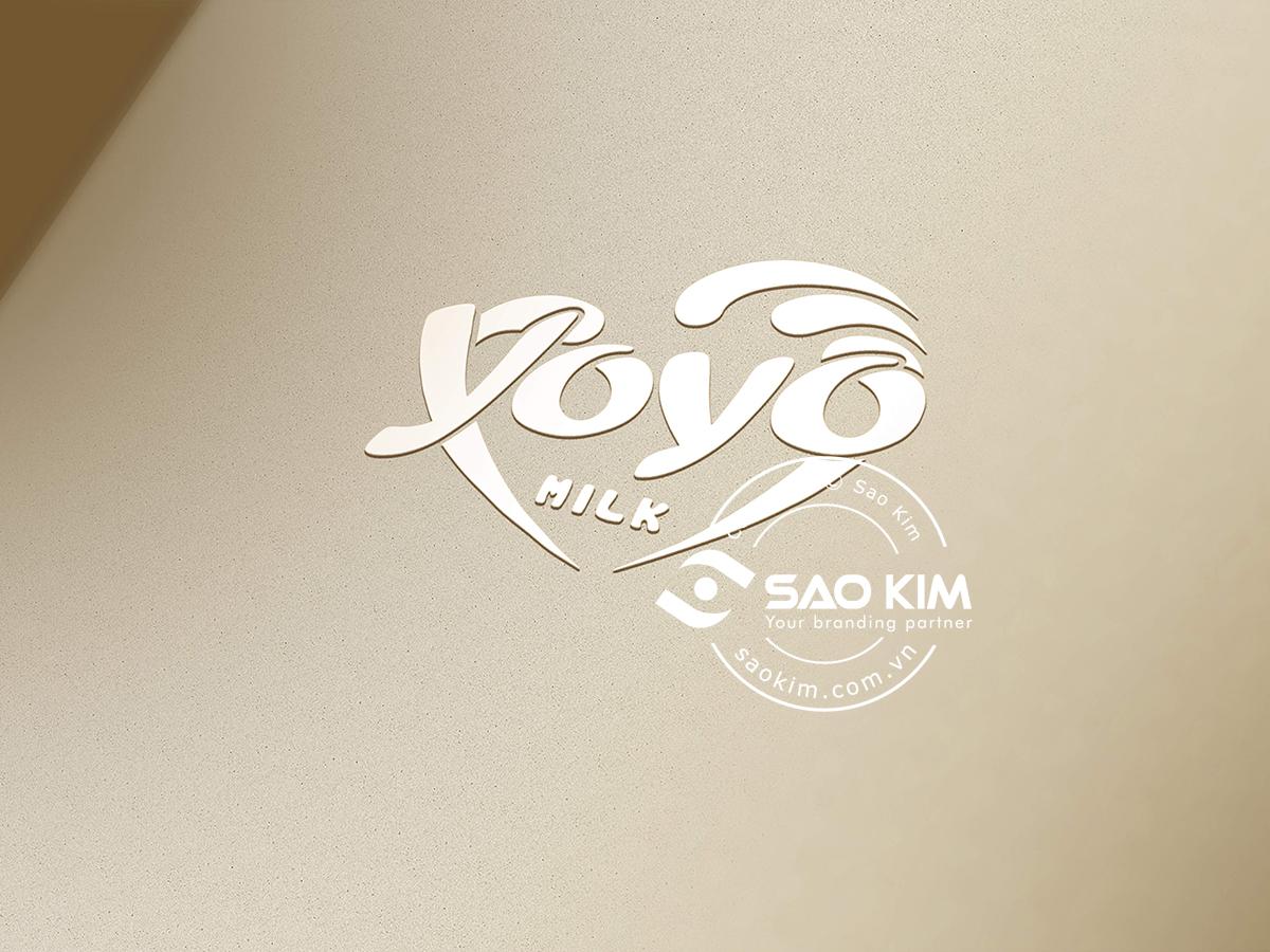 Thiết kế logo sữa Yoyo tại TP HCM