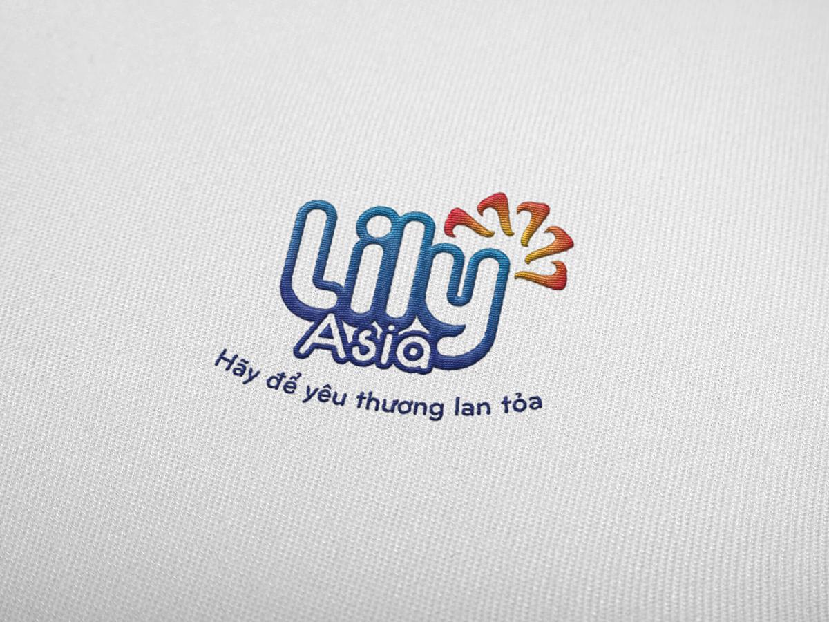 Thiết kế logo và bao bì sản phẩm nước giặt Lily Asia tại Hà Nội
