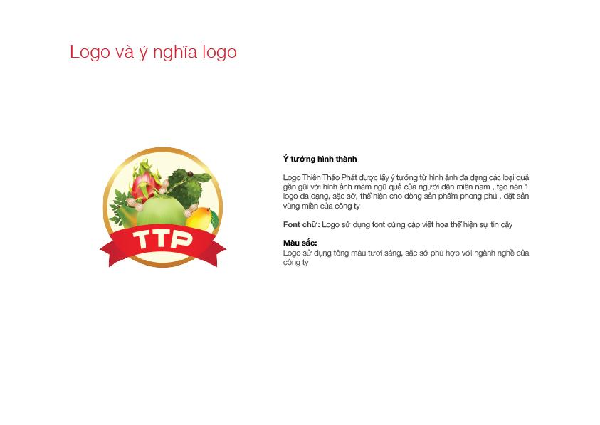 Thiết kế logo Thiện Thảo Phát tại TP HCM