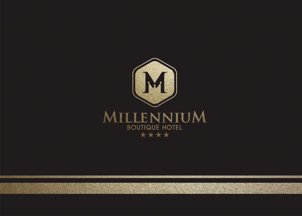 Thiết kế nhận diện thương hiệu khách sạn 4 sao Millenium Boutique Hotel tại TP HCM