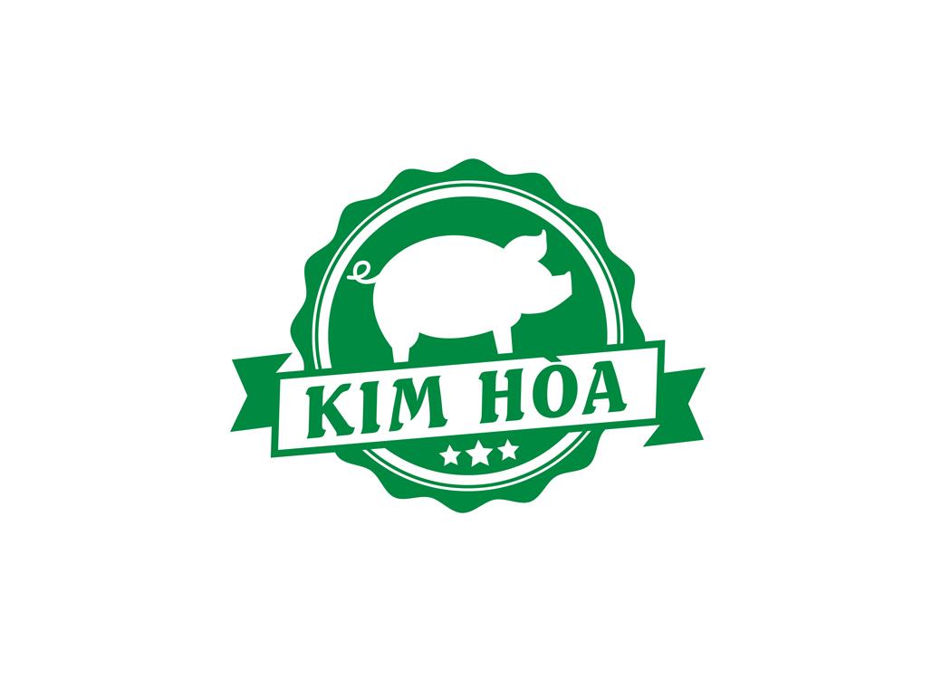 Thiết kế logo trang trại nuôi heo Kim Hoà tại TP HCM