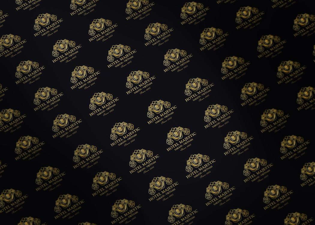 Dự án Thiết kế logo và bộ nhận diện thương hiệu khách sạn Majestic tại TP HCM