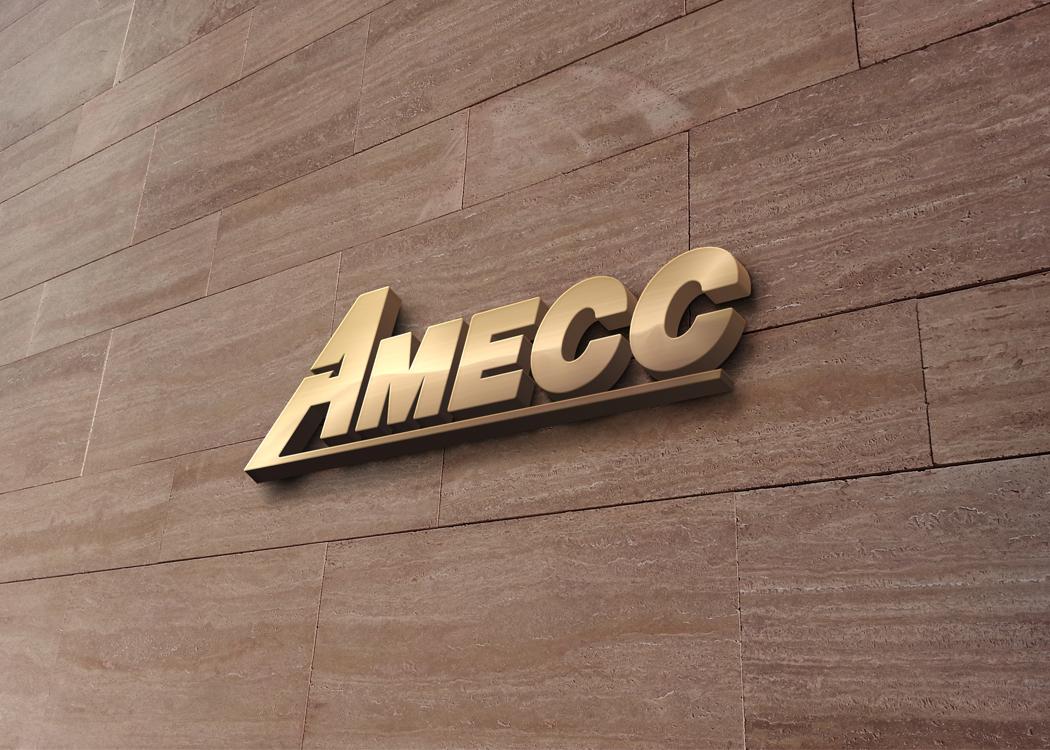 Thiết kế logo và bộ nhận diện thương hiệu công ty cơ khí AMECC tại Hà Nội, Quảng Ninh, TP HCM