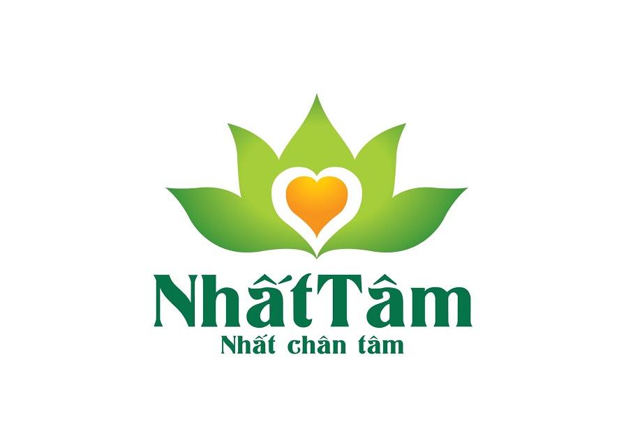 Thiết kế logo dược phẩm y tế NHẤT TÂM tại Hà Nội