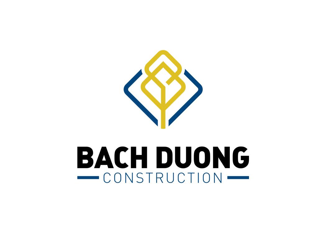 Thiết kế logo và nhận diện thương hiệu công ty xây dựng Bạch Dương tại TP HCM