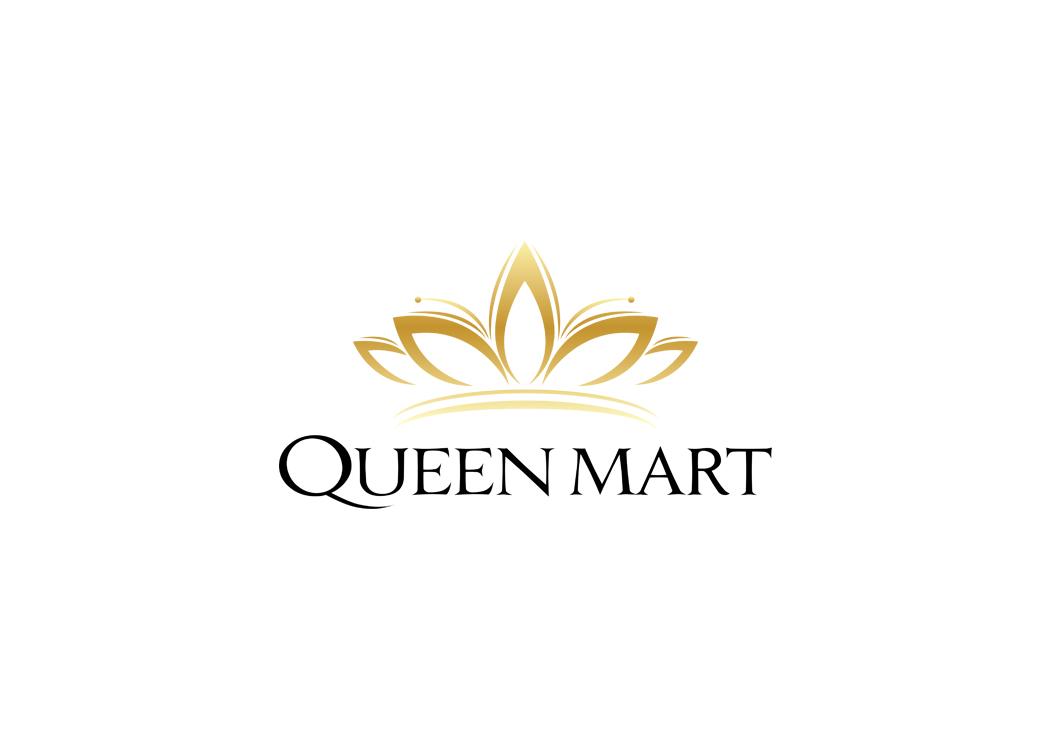 Thiết kế logo Mỹ phẩm cao cấp QUEEN MART tại Hà Nội