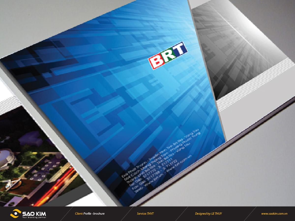 Thiết kế brochure Vũng Tàu tại Bà Rịa Vũng Tàu