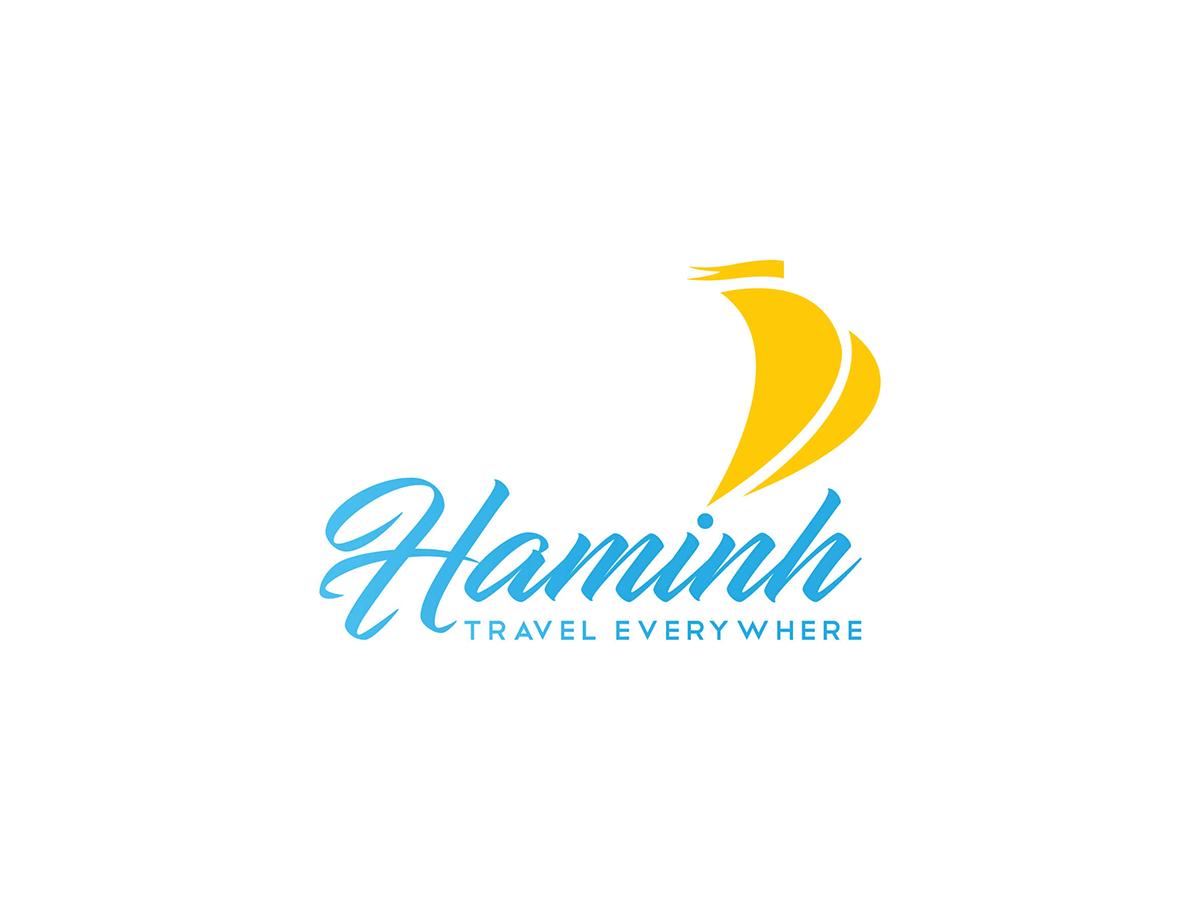 Thiết kế logo và bộ nhận diện thương hiệu Ha Minh Travel tại Hà Nội