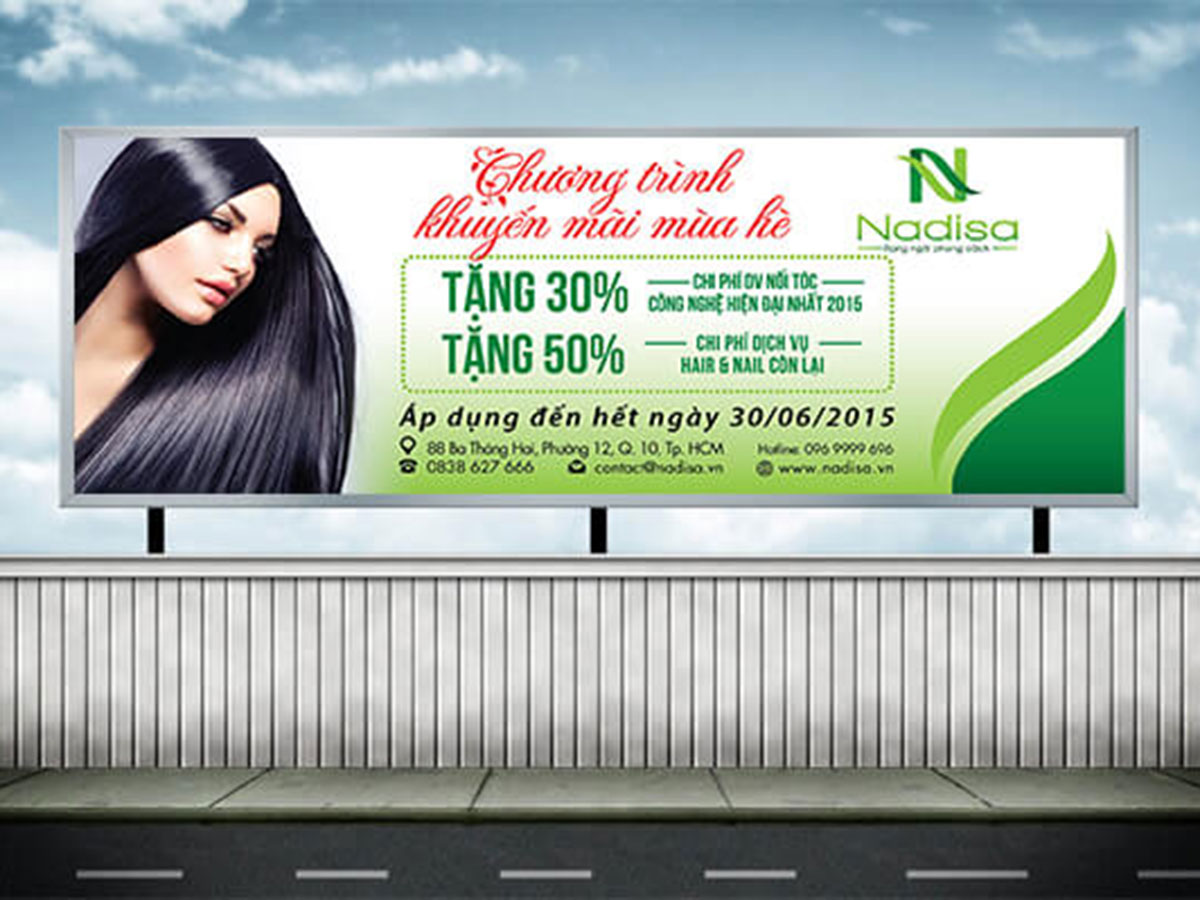 Xây dựng nhận diện thương hiệu Nadisa tại TP HCM