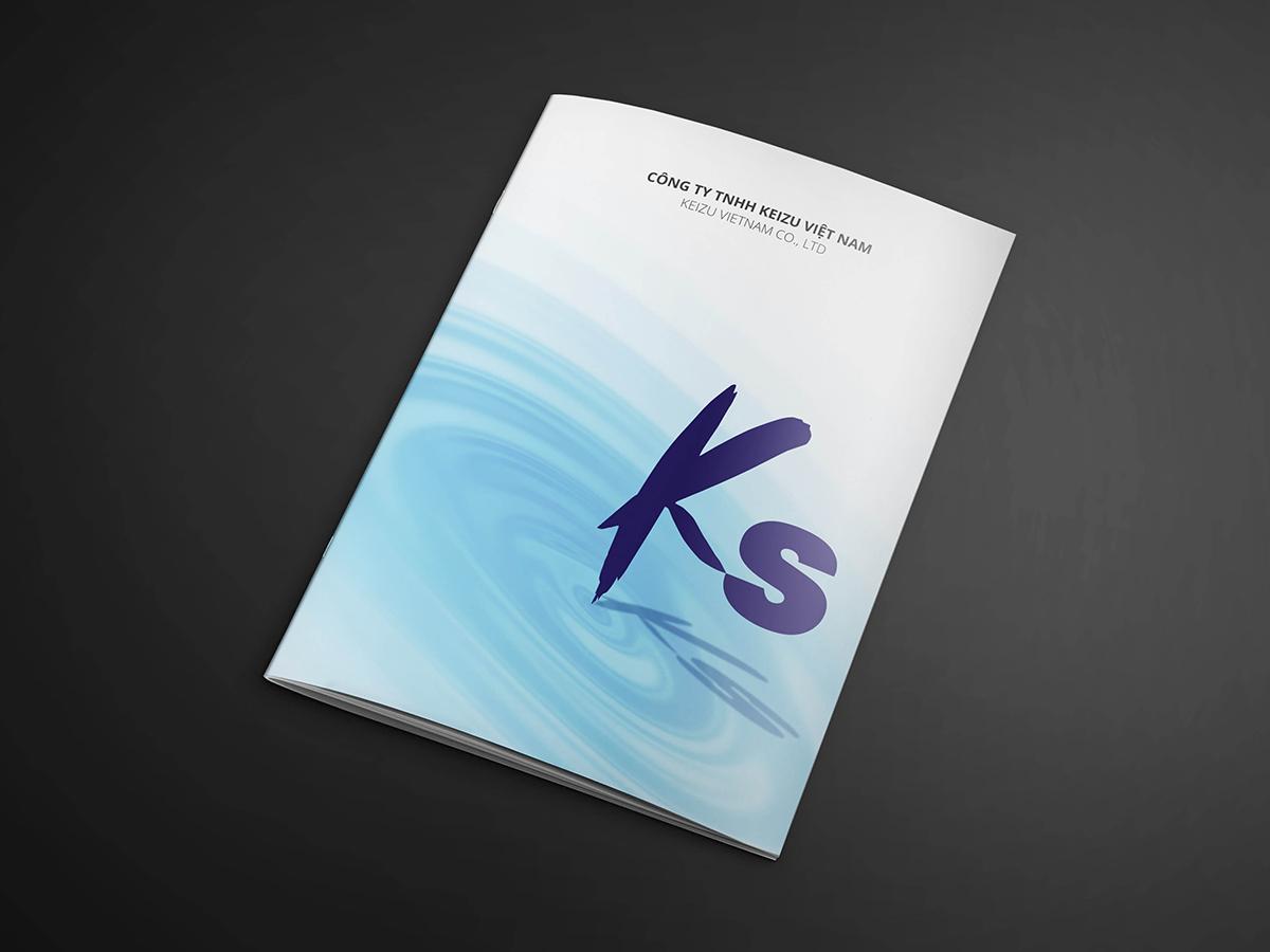 Thiết kế profile công ty KEIZU tại TP HCM