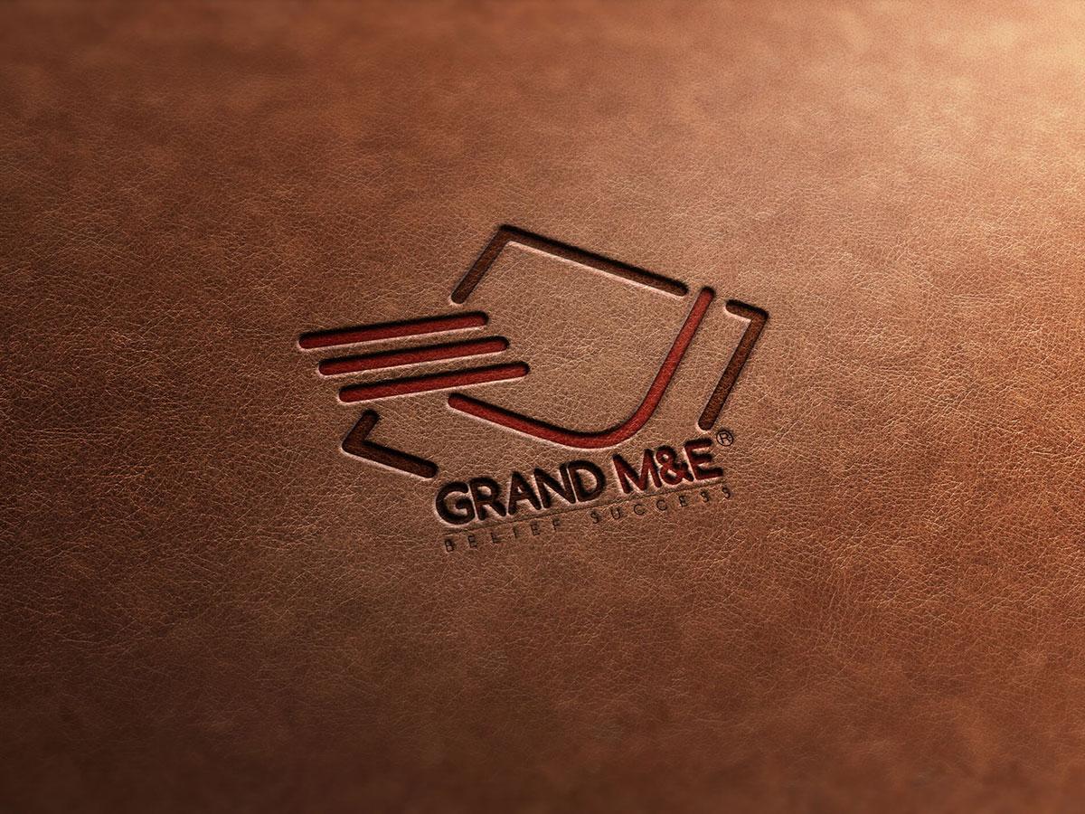 Thiết kế logo nhận diện thương hiệu cơ điện, xây dựng Grand tại Hà Nội