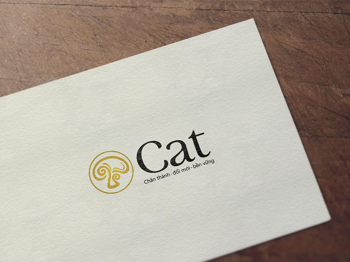 Thiết kế logo thực phẩm chức năng Cat tại Hà Nội
