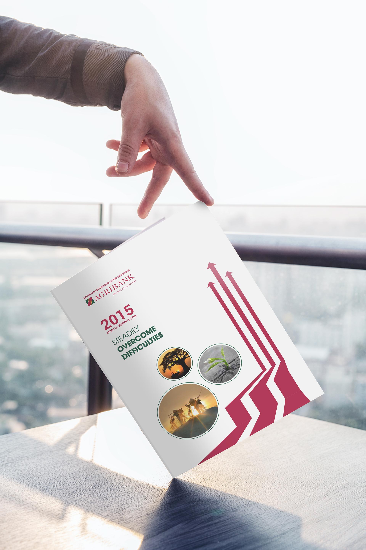 Thiết kế báo cáo thường niên cho ngân hàng Agribank tại Hà Nội, TP HCM