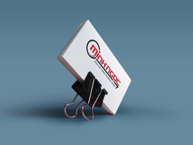 Thiết kế logo và bộ nhận diện thương hiệu công ty xổ số kiến thiết Minh Ngọc tại TP HCM