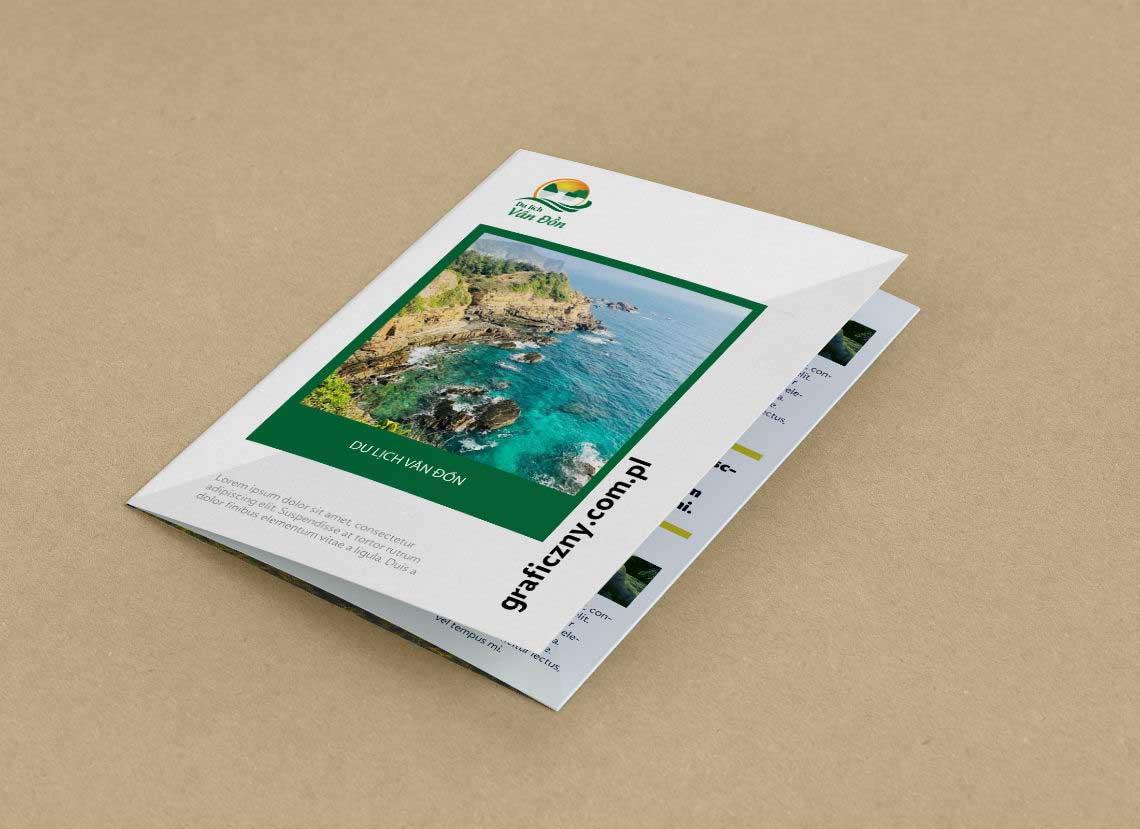 Thiết kế logo Công ty Du lịch Vân Đồn tại Quảng Ninh
