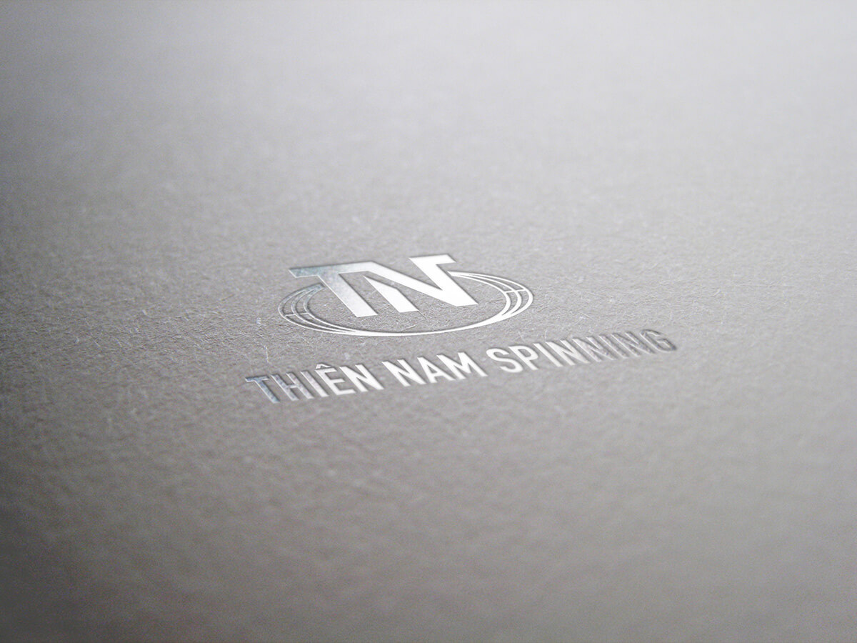 Thiết kế logo và hệ thống nhận diện thương hiệu  Thiên Nam Spinning tại Bình Dương