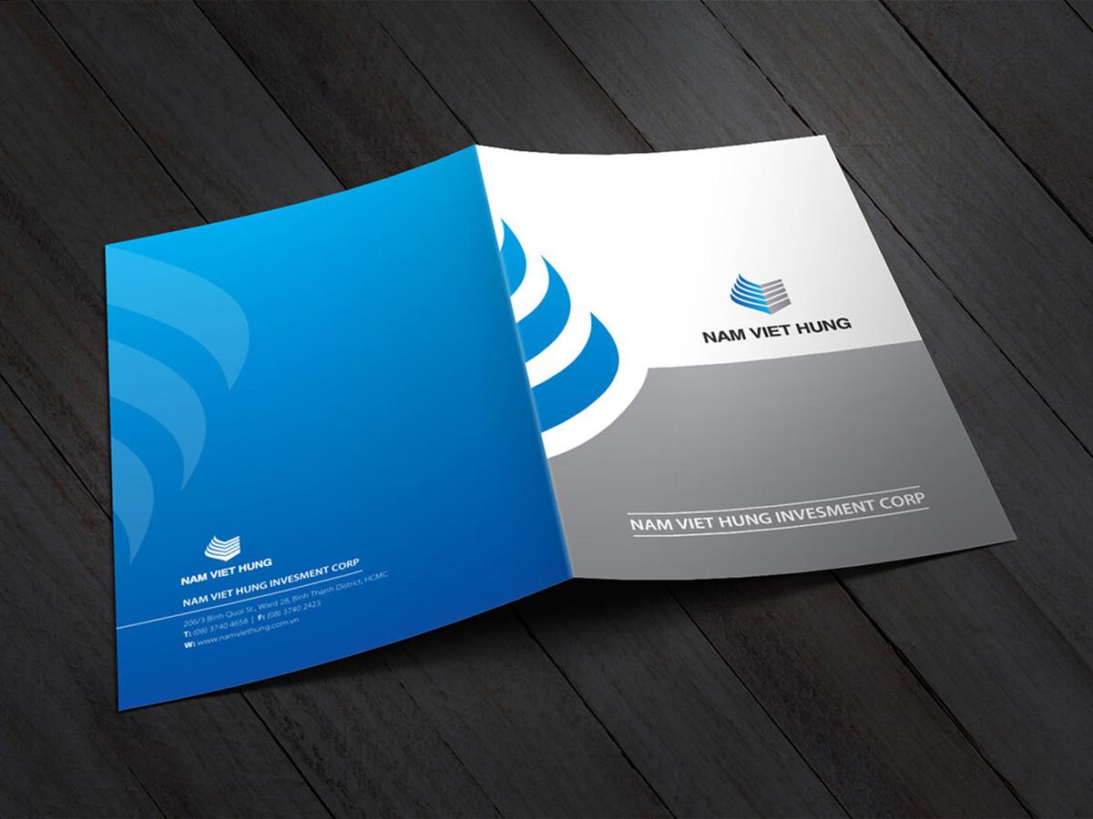 Thiết kế logo và nhận diện thương hiệu Nam Việt Hưng tại TP HCM