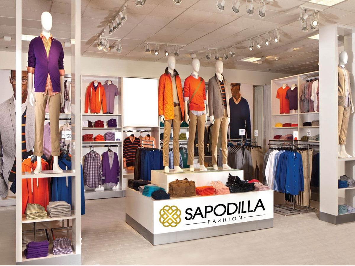 Thiết kế nhận diện thương hiệu thời trang Sapodilla tại Hà Nội
