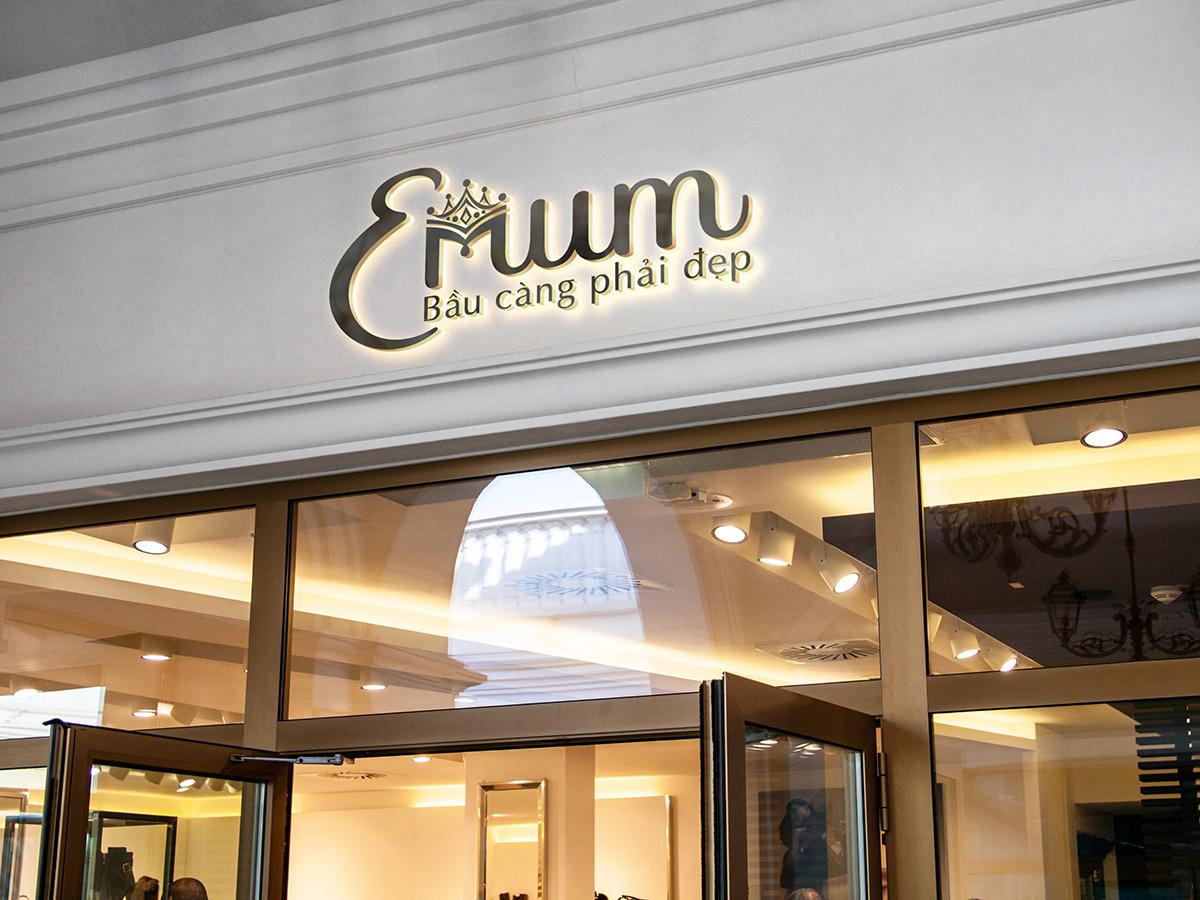 Thiết kế logo và nhận diện thương hiệu thời trang đầm bầu tại TP HCM