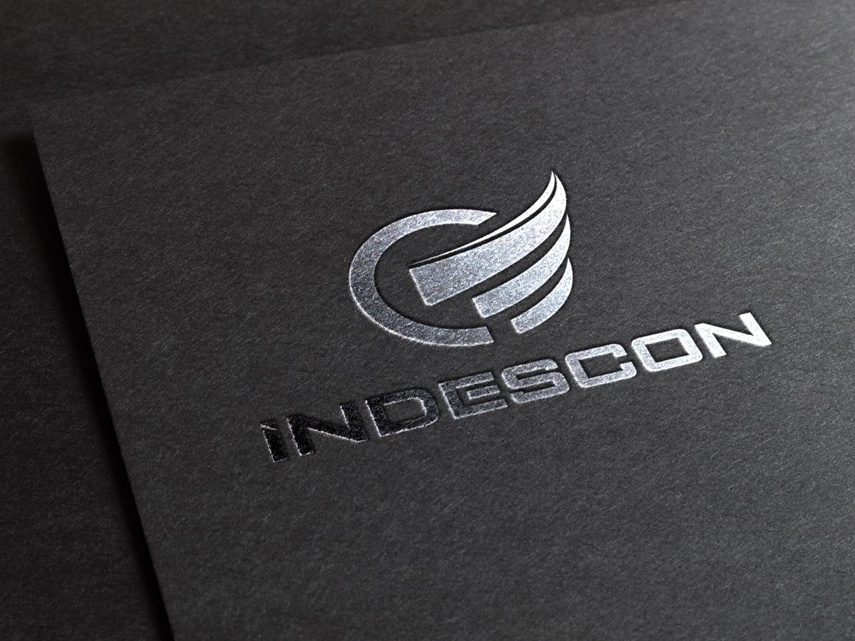 Thiết kế logo xây dựng INDESCON tại TP HCM