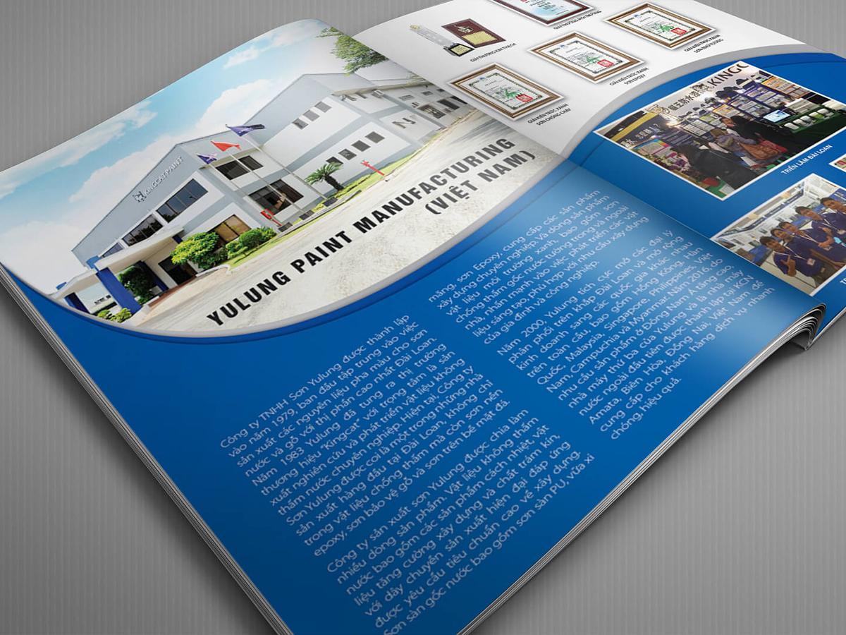 Thiết kế catalogue tại Đồng Nai