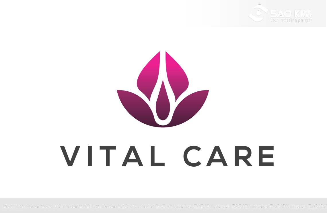 Thiết kế logo Công ty CP Vitalcare Việt Nam tại Hà Nội