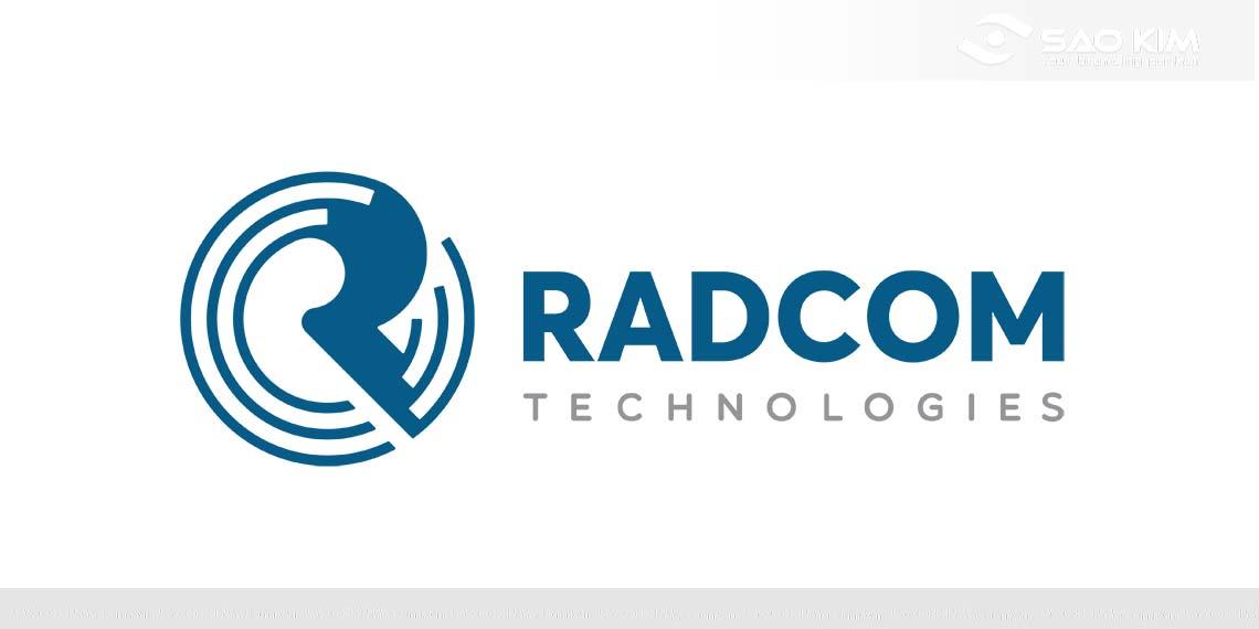 Thiết kế logo, bộ CIP Công ty RADCOM Việt Nam tại Hà Nội