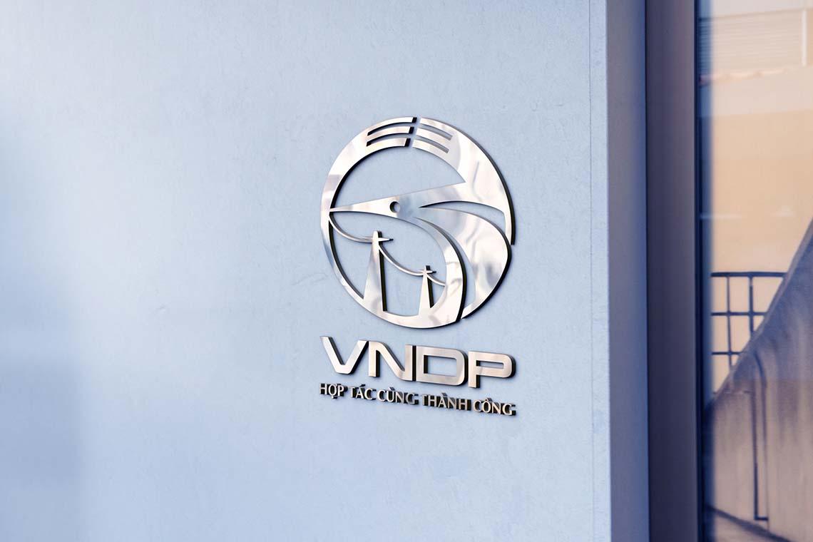Thiết kế logo Công ty CP phát triển năng lượng Việt Nam - VNPD tại Nam Định