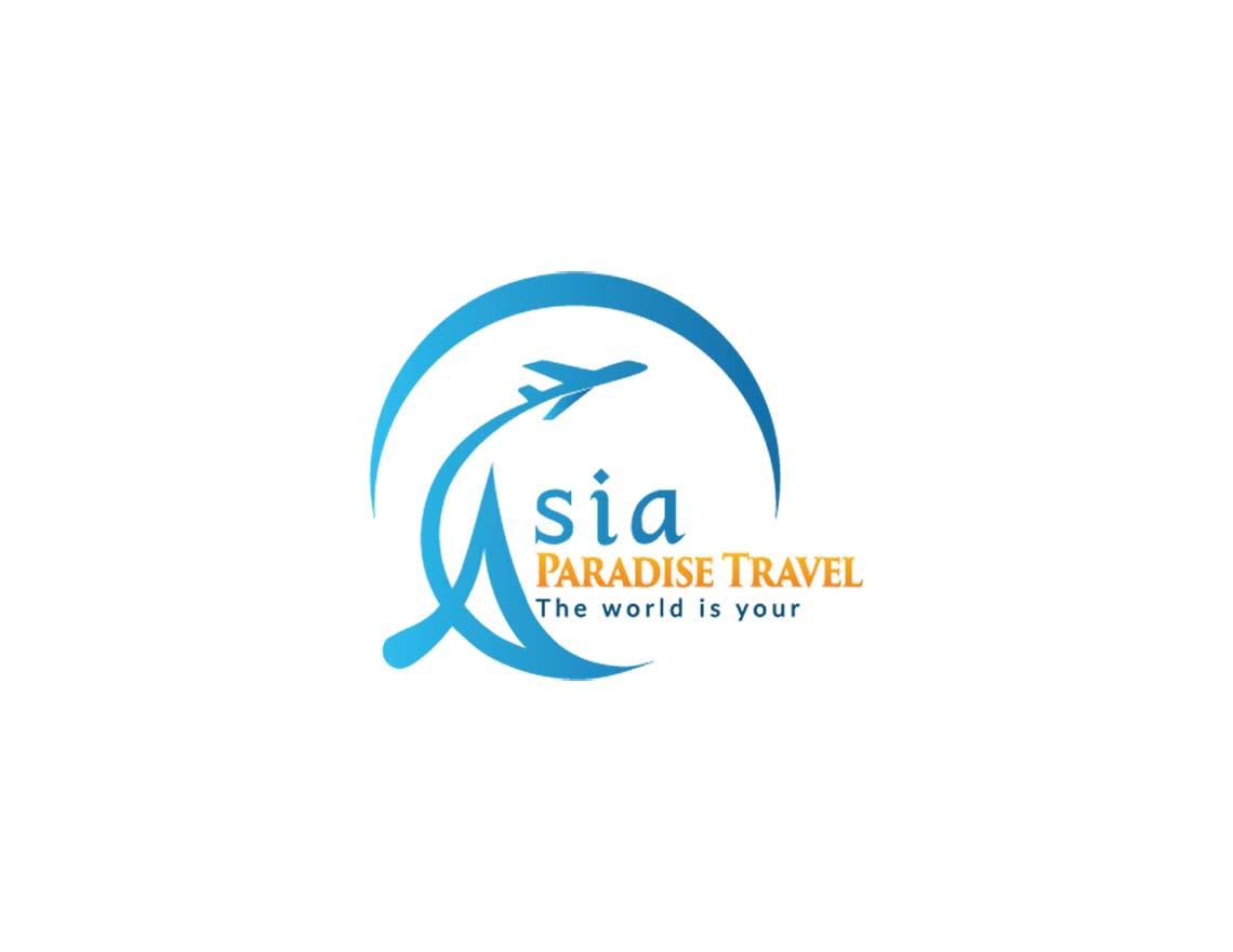 Thiết kế logo thương hiệu du lịch Asia Travel tại Hà Nội