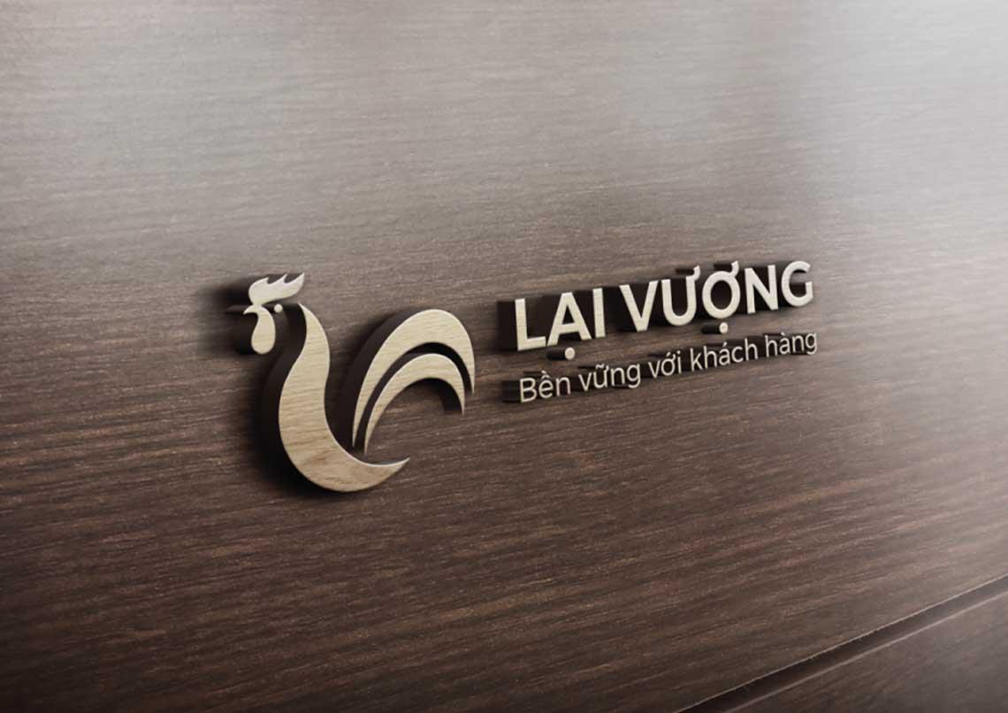Thiết kế logo và nhận diện thương hiệu Công ty Lại Vượng tại Bắc Giang