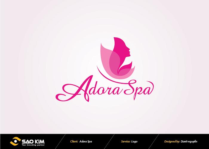 Thiết kế logo Adora spa tại Hà Nội, TP HCM, Yên Bái
