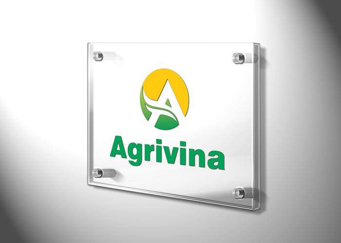 Thiết kế logo công ty thương mại và đầu tư Agrivina tại Hà Nội