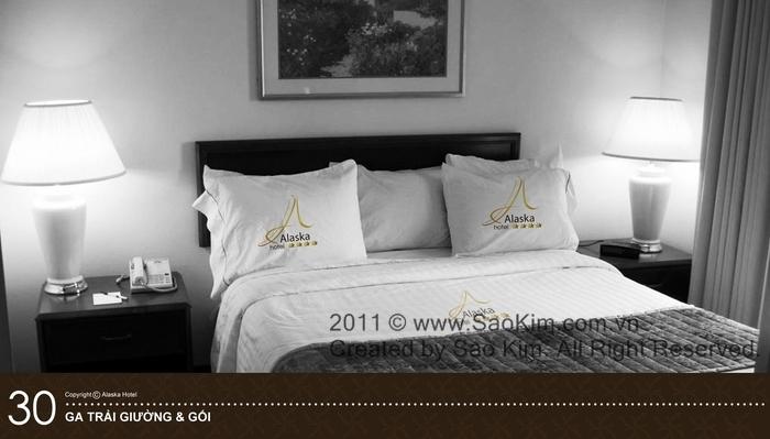 Thiết kế nhận diện thương hiệu khách sạn 4* ALASKA HOTEL tại TP HCM