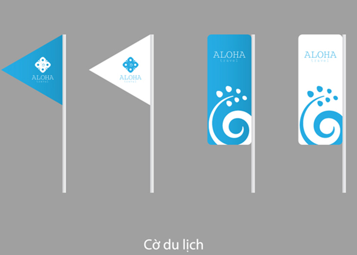 Thiết kế logo Aloha Travel tại TP HCM