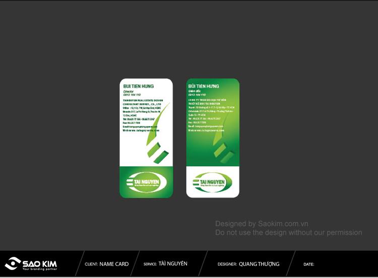 Thiết kế logo và nhận diện thương hiệu cho công ty Bất động sản Tài Nguyên tại TP HCM