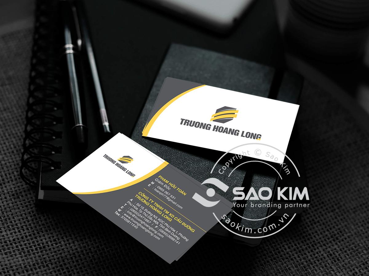 Thiết kế logo Trương Hoàng Long