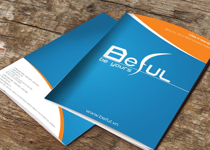 Thiết kế logo nhận diện thương hiệu BEFUL tại TP HCM