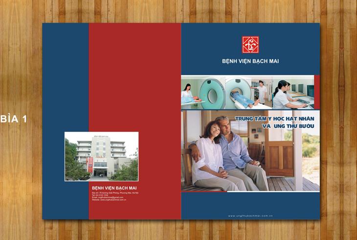 VIỆN BẠCH MAI - Thiết kế ấn phẩm cho bệnh viện Bạch Mai