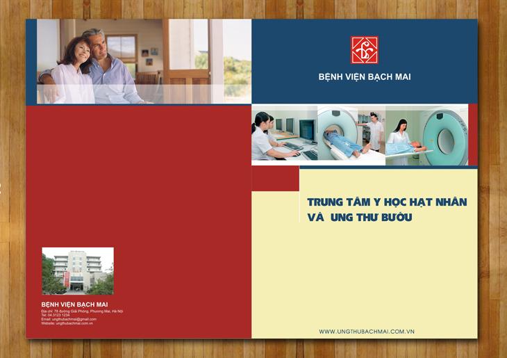 Thiết kế ấn phẩm cho bệnh viện Bạch Mai tại Hà Nội