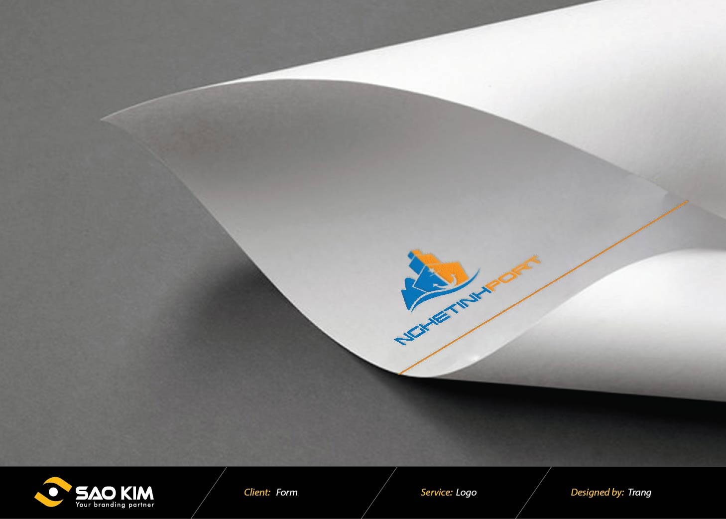 Thiết kế logo Cảng Nghệ Tĩnh tại Nghệ An