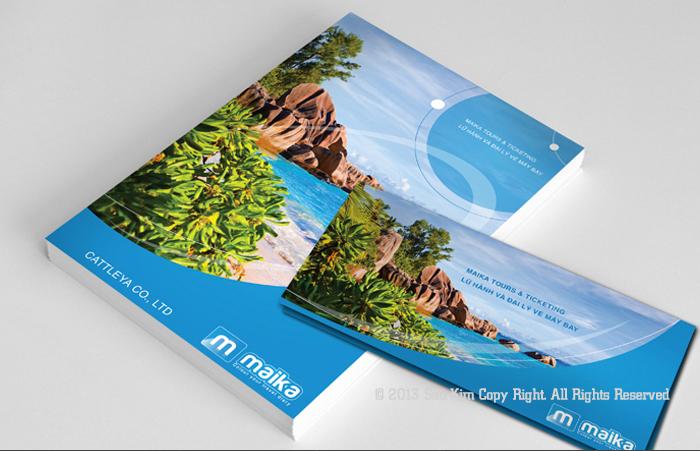 Thiết kế thương hiệu công ty Lữ hành CATTLEYA Co., Ltd tại TP HCM