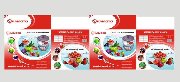 Thiết kế thương hiệu đồ gia dụng AKAMOTO tại Hà Nội