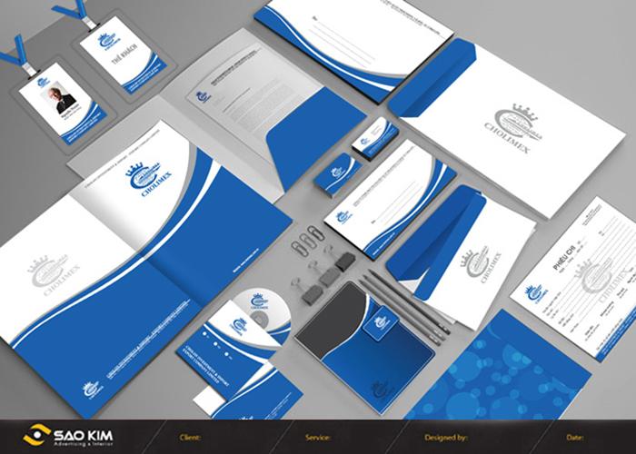 Thiết kế logo và quy chuẩn bộ nhận diện thương hiệu CHOLIMEX tại TP HCM