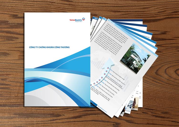 Thiết kế nhận diện thương hiệu cho Chứng khoán Vietinbank tại Hà Nội