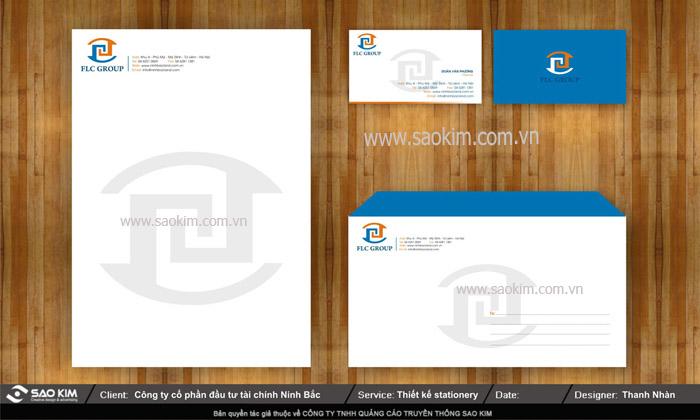 Thiết kế nhận diện thương hiệu cho FLC Group