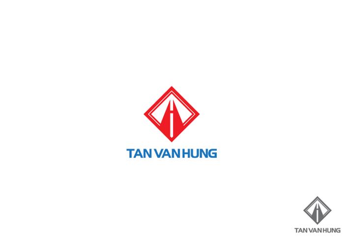 Thiết kế logo bất động sản Tân Vạn Hưng tại TP HCM