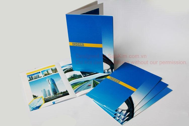 Thiết kế hồ sơ năng lực Công ty Cổ Phần Đầu Tư Phát triển công nghiệp - INDECO tại Hà Nội