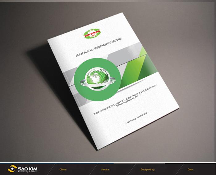 Thiết kế báo cáo thường niên Công ty cổ phần Nhựa Thiếu Niên Tiền Phong tại Hải Phòng