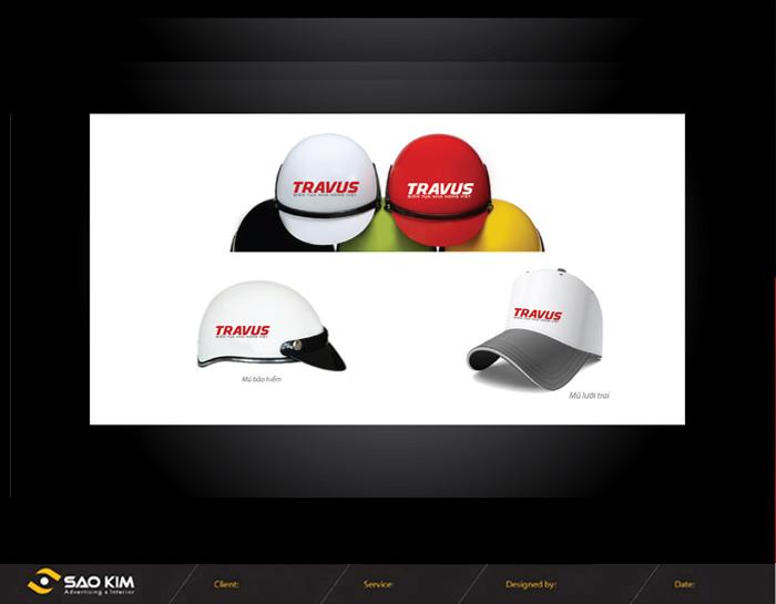 Thiết kế hệ thống nhận diện thương hiệu công ty cổ phần Trần Vương - Travus tại TP HCM