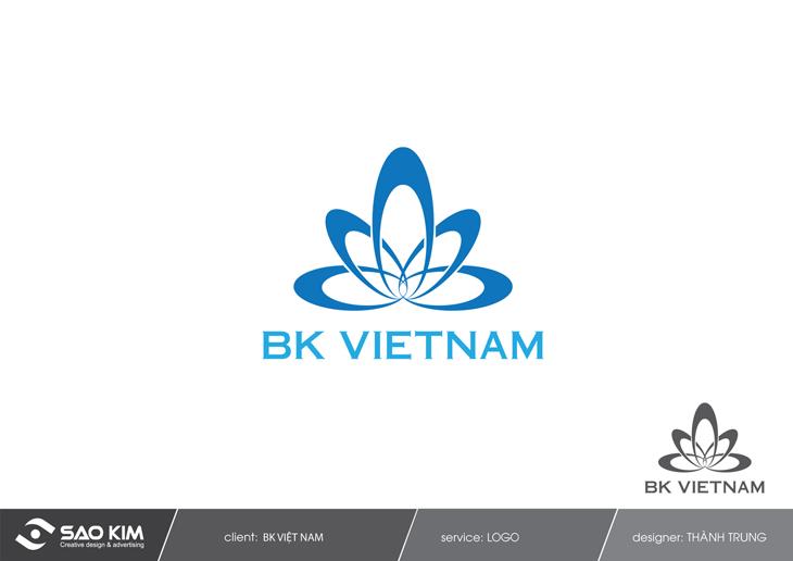Thiết kế Logo cho công ty BK Việt Nam tại TP HCM